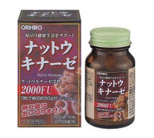 ORIHIRO Наттокиназа (Natto Kinase) 60 капсул